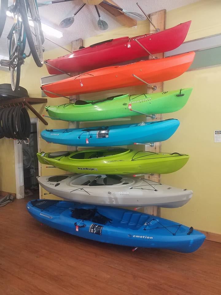 Kayaks in Stock